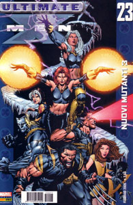 ULTIMATE X-MEN 23: Nuovi Mutanti  pt. 3